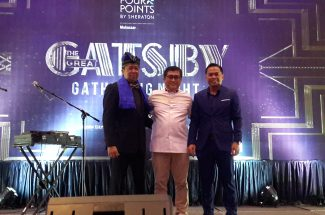 "Four Points by Sheraton Makassar menyelenggarakan malam apresiasi bertajuk  ""The Great Gatsby Gathering Night"",di Ballroom Golden Lily, Senin 30 Juli 2018."