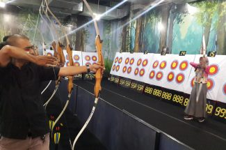 Wahana panahan SS Archery Hadir di Mall Phinisi Point.