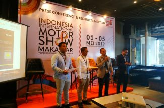 Indonesia International Motor Show (IIMS) Makassar 2019 kembali diselenggarakan 1-5 Mei 2019 di Celebes Convention Center (CCC).