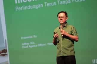 Jeffrey Kie, Chief Agency Officer Manulife Indonesia. (Foto:ist)