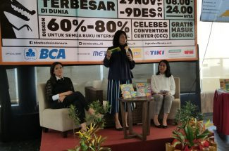 Konferensi Pers Big Bad Wolf Book Sale di Arthama Hotels, Rabu 20 November 2019.(***)