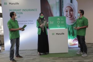 Manulife Indonesia meluncurkan MiSmart Insurance Solution (MiSSION) Syariah.(foto:ist)