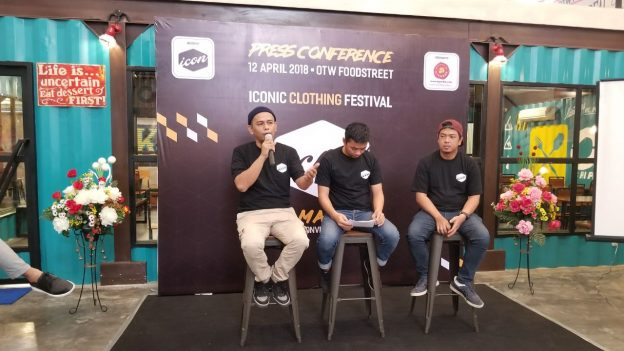 Press Conference Iconic Clothing Festival